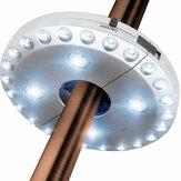 Luz de guarda-chuva do pátio Bateria Luz de poste de guarda-chuva conduzida com 3 modos de brilho Sem fio 28 LED Luzes para guarda-chuvas de pátio Barracas de acampamento Uso ao ar livre
