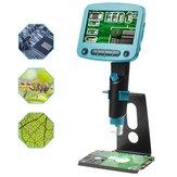 DANIU DM01 4.3 Pollici LCD Schermo HD 5.0MP 800X Portatile USB Digitale LCD Microscopio Alta luminosità 8 LED