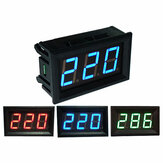 0.56 Inch AC70-500V Mini Digital Volt Meterr Voltage Panel Meter AC Voltage LED Display Meter