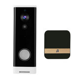 WiFi Video Doorbell 1080P 166° Wireless Video Smart Doorbell Security Home Door Bell Ring