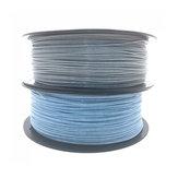 CCTREE® 1.75mm 1KG Parlak Gümüş / Mavi PLA 3D Yazıcı için Filament