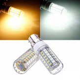 B22 7.5W Wit / Warm Wit 5730 SMD 69 LED-gloeilamp 220V