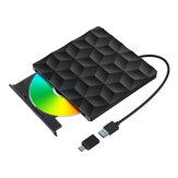 BlitzWolf®BW-VD1 USB3.0 Type-C Externe brander Dvd-speler Optische schijf voor pc / notebook in huis / buiten / op het werk
