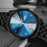 TINACE Homens Mostrador Luminoso Dia Week Display Quartz Watch