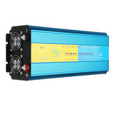 CC 12V / 24V à exposição pura do inversor LCD do poder de onda do seno 110V / 220V 4000W da CA