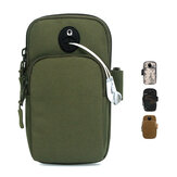 WPOLE A02 6.5 inch Outdoor Running Mobile Arm Bag Portable Sports Camouflage Tactical Bag