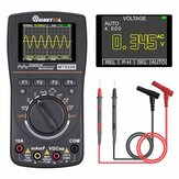 MUSTOOL MT8208 HD Intelligent Graphical Digital Oscilloscope Multimeter 2 in 1 With 2.4 Inches Color Screen 1MHz Bandwidth 2.5Msps Sampling Rate for DIY and Electronic Test Upgraded from MT8206
