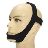弾力性のあるいびきのいびき顎の顎のストラップのいびきのベルト抗Apneaのソリューション睡眠TMJのサポート