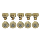 0.3mm Brass Misting Nozzles Water Mister Sprinkle For Cooling System 0.012 Inch 10/24 UNC