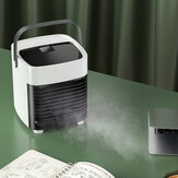 Ultrastille draagbare USB-airconditioning Ventilator Slaapkamer Woonkamer Kantoor Reizen Waterkoeling Drie windenergie