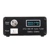 ATU100 Automatic Antenna Tuner 100W 1.8-30MHz Assembled For 5-100W Shortwave Radio Stations ATU-100