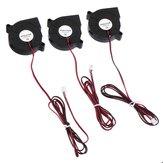 Anet® 3Pcs DC12V 5015 50x50x15mm 2-pin Ventilador de enfriamiento del ventilador de escape