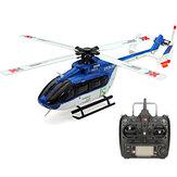 XK K124 6CH Бесколлекторный EC145 3D6G Система RC Вертолет RTF