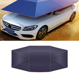 Car Tent Anti-UV Windproof Sun Shelter Portable Folded Car Canopy Cover Camping Car Umbrella