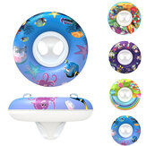 1PC Baby Swimming Ring Pool Seat Baby Float Ring Aid Trainer Float Water For Kids Disegni di cartoni animati