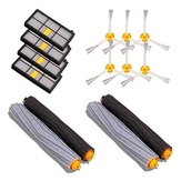 4pcs Filter 6pcs Side Brush 4pcs Main Brush Vacuum Cleaner Parts 14PCS Accessories for iRobot Roomba 880 860 870 871 Vacuum Cleaner