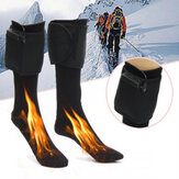 3V Electric Heated Warm Thermal Boot Socks Battery Powered Winter Foot Warmers for Winter Heating Equipment
