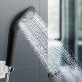 Cabeça do chuveiro Cabeça de chuveiro de chuva de pressão Cabeça de chuveiro preta Filtro de economia de água Bocal de pulverização de alta pressão de economia de água