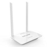 Routeur WiFi PIX-LINK 300M Routeur sans fil Antennes omnidirectionnelles 2x5dBi Configuration facile 4 ports LAN Routeur WiFi WPS
