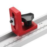 Soportes deslizantes para pistas en T para pistas en inglete para carpintería en T en ranuras en T DIY herramienta