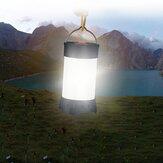 ポータブルUSB充電式キャンプテントライトランタンフックマグネット防水5モード緊急ランプ