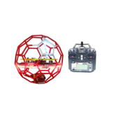LDARC Flyball 230 122mm Wheelbase F4 20A 4S Soccer FPV Racing Drone RTF with Flysky FS-i6 Radio Transmitter for Competition Education