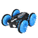 JJRC C10 2.4G 6CH RC Car Amphibious 360° Rotate Off-Road Stunt Vehicles w/ LED Light RTR