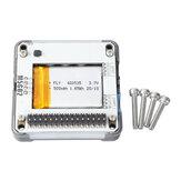 M5GO BOTTOM2 M5Stack Extension dédiée Core2 Batterie Base 500 mAh avec microphone SPM1423 MPU6886 HY2.0-4P