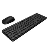 MIIIW Wireless Keyboard & Mouse Set for Windows/Mac One-button Switching 104 Keys 2.4GHz IPX4 Waterproof Keyboard