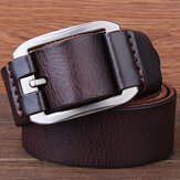 Genuine Leather Men's Belt Casual Waistband Waist Strap Pin Retro Belt