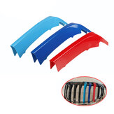 3PCS Front Kidney Grille Cover Trim Car Modification Insert Sticker Strip For BMW 1 Series F40 2020