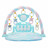 3-в-1 Cute Rainforest Музыкальная колыбельная Bassinet Baby Activity Playmat Спортзал Игрушка Мат