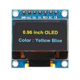 Wyświetlacz OLED 7Pin 0,96 cala 12864 SSD1306 Moduł szeregowego ekranu LCD SPI IIC Geekcreit dla Arduino - produkty współpracujące z oficjalnymi płytami Arduino