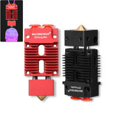 BIGTREETECH® 12V / 24V 1,75mm 2-IN-1-OUT Hotend Mixed Color J-head Hotend Extruder Kit de atualização para impressora 3D