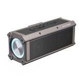BlitzWolf® BW-WA3 100W مكبر صوت بلوتوث مكبرات صوت محمولة رباعي السائقين ثنائي الحجاب الحاجز Deep Bass RGB ضوء TWS 5000mAh مكبر صوت لاسلكي خارجي