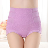 Hip Up Tummy Control Elasticity Jacquard Shapewear