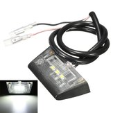 12v 3 LED licença luz número placa traseira para a motocicleta quad e-marcado