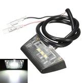 12V 3 LED Numara Lisansı Arka Kap Işık için Motosiklet Quad Bisiklet e-işaretli