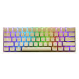 108 Key PBT OEM White Pudding Keycap Translucent Key Caps for Mechanical Keyboard