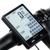 INBIKECX-92.8''GroßerBildschirm Fahrrad Computer Kabellos Grüne HintergruNdbeleuchtung Rainproof Speedometer Kilometerzähler Stoppuhr