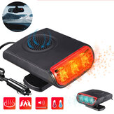 3-in-1 Car Heater 12V Heating Cool Fan Window Mist Remover Demister Defroster Outdoor Recreational Vehicle Travel