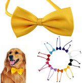 Cani da compagnia multicolore papillon cane cravatta al collo del gatto cravatta pet grooming