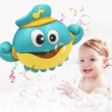 Muziek Bubble Machine Maker Bad Octopus Speelgoed voor baby Baby Kids Happy Tub Time Shower Games