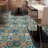 3D Retro kreative Muster Bodenfliesen Aufkleber Diagonal Schreibtisch Kleiderschrank Kunst Wandbild DIY Dekoration Wasserdichte Wandaufkleber Bodenaufkleber