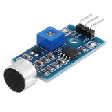 3Pcs Mikrofon Sound Sensor Modul Voice Sensor High Sensitivity Sound Detection ModuleGeekcreit für Arduino - Produkte, die mit offiziellen Arduino Boards funktionieren