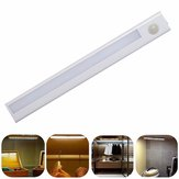 Battery Powered 8LED PIR Motion Sensor Detector Night Light Drawer Closet Lamp