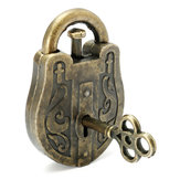 Metalen Cast God Lock Puzzle Retro Vintage Lock IQ & EQ Gift Brain Teaser Souptoys Gift