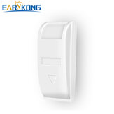 EARYKONG Wired Passive Window Curtain Infrared Detector PIR Motion Sensor Support Temperature Compensation For Home Alarm