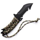 سكين قابل للطي 23 سنتيمتر ، سكين صيد ، تخييم متعدد الصلابة ، بقاء عسكري ، بقاء في الهواء الطلق في البرية ، أدوات سكين قابلة للطي