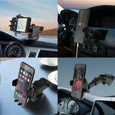 BENHONG Universal Carro Ar Montagem de Ventilação Otário de Vidro Frontal Suporte de Mesa para Phone 3-6.5 Polegadas